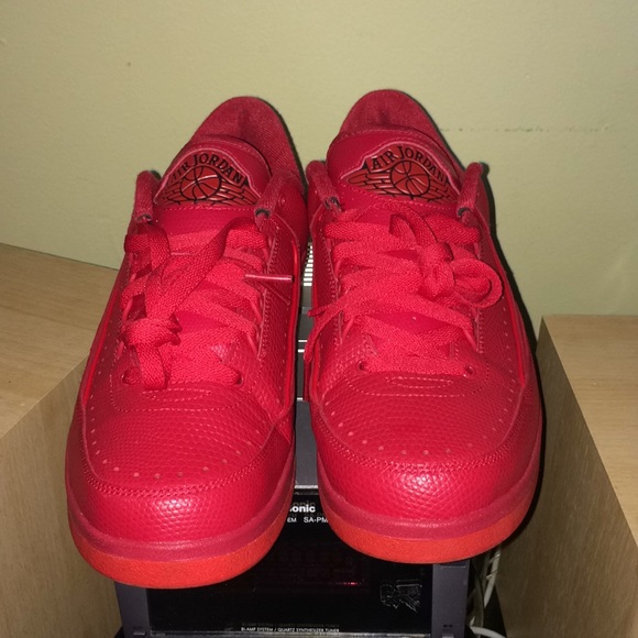 sports shoes 4ebaa d44ee Air Jordan 2 Low Gym Red